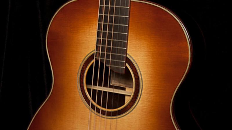 Lichty OM Guitar