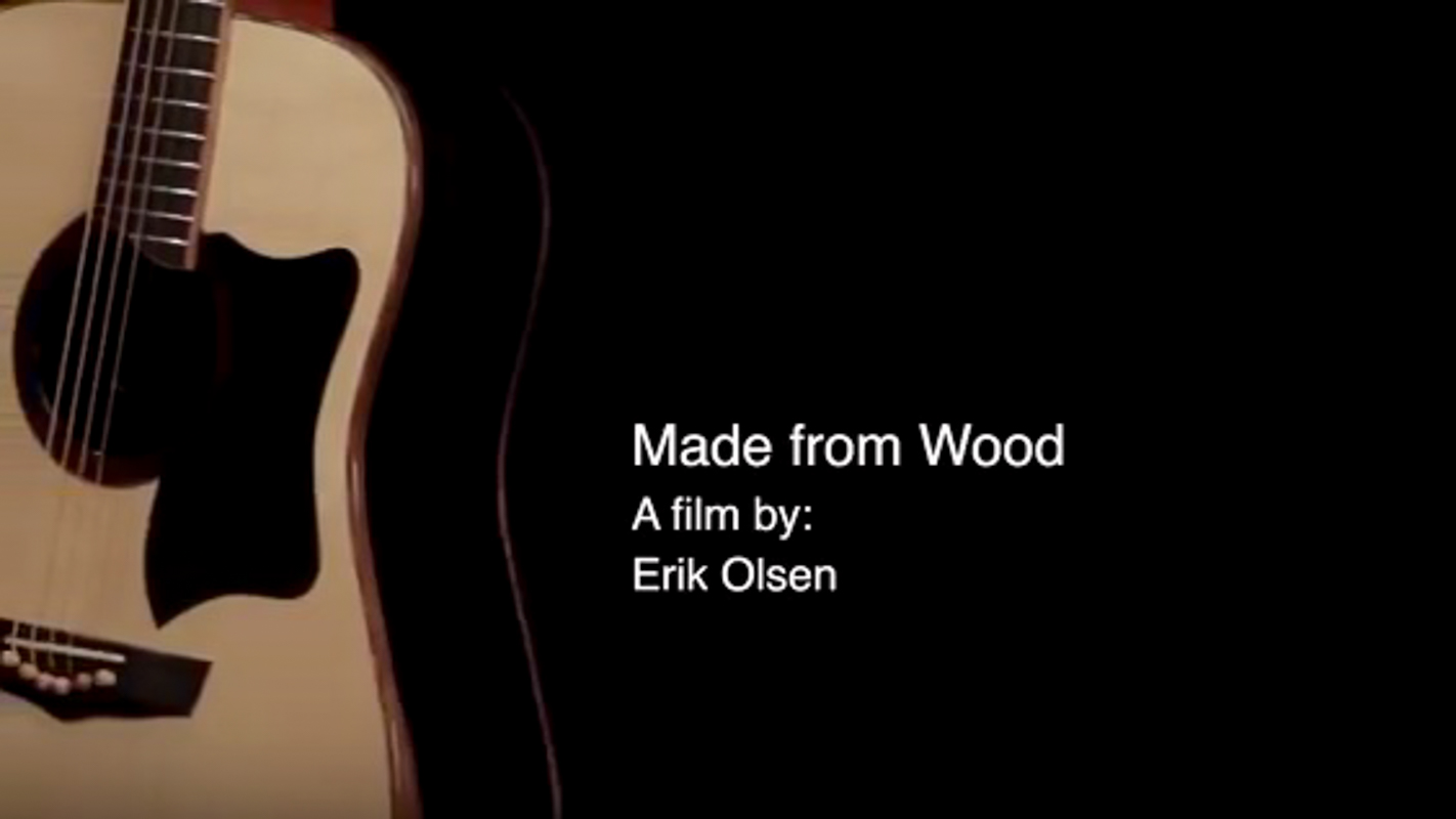 Made from Wood - Erik Olsen Film