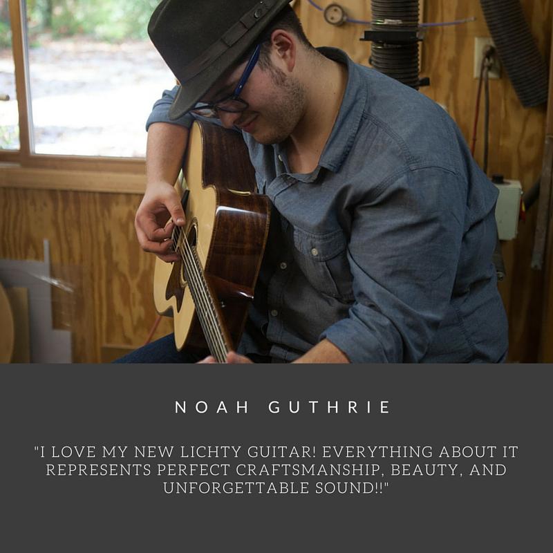 Noah Guthrie Custom Lichty Guitar