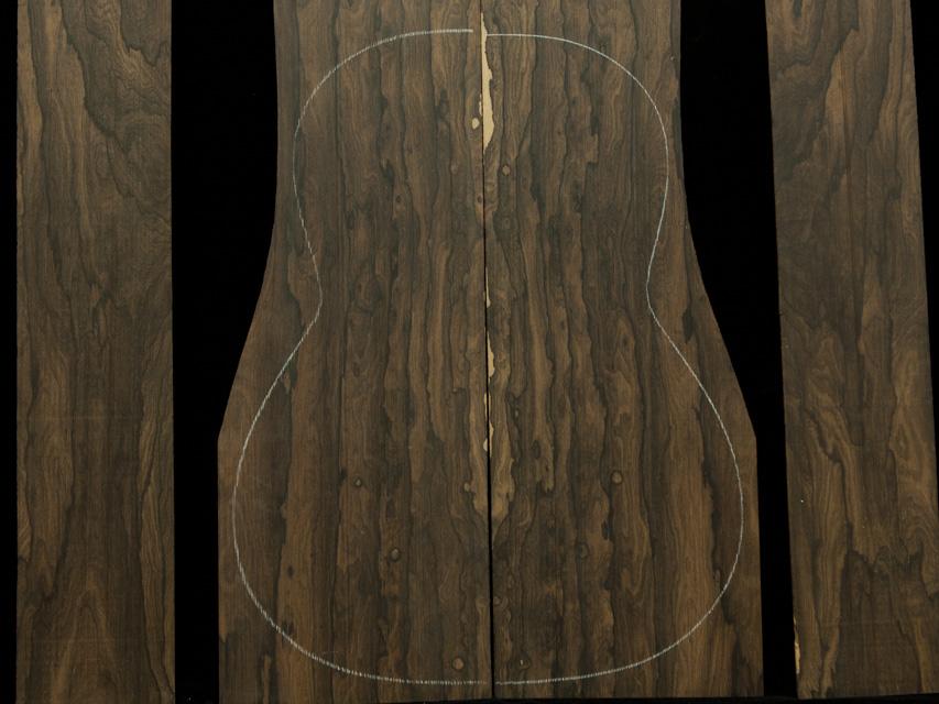 Ziricote Guitar Tonewood