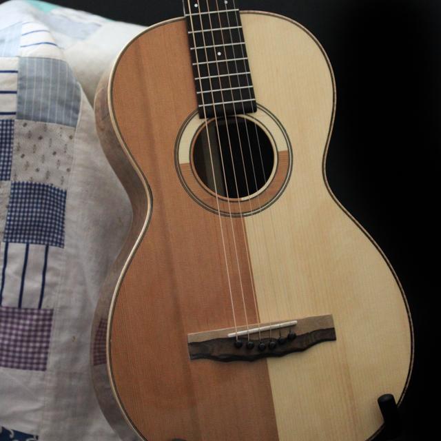 Patchwork Soundboard Guitar