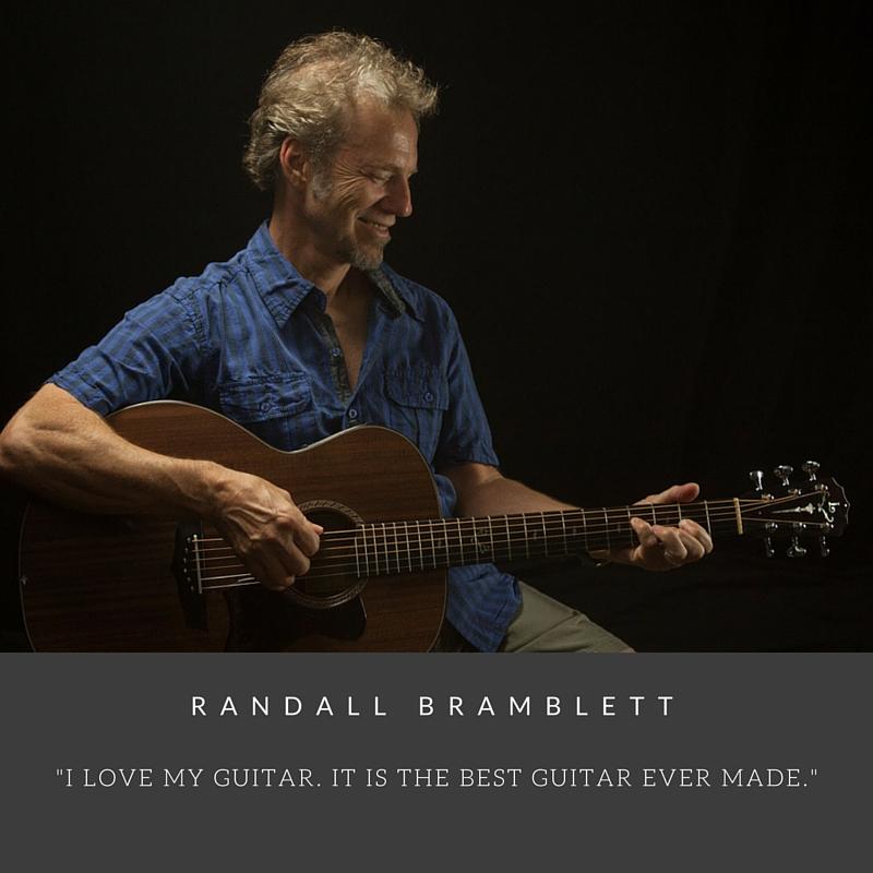 Randall Bramblett Custom Lichty Guitar