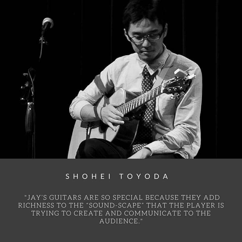 Shohei Toyoda Custom Lichty Guitar