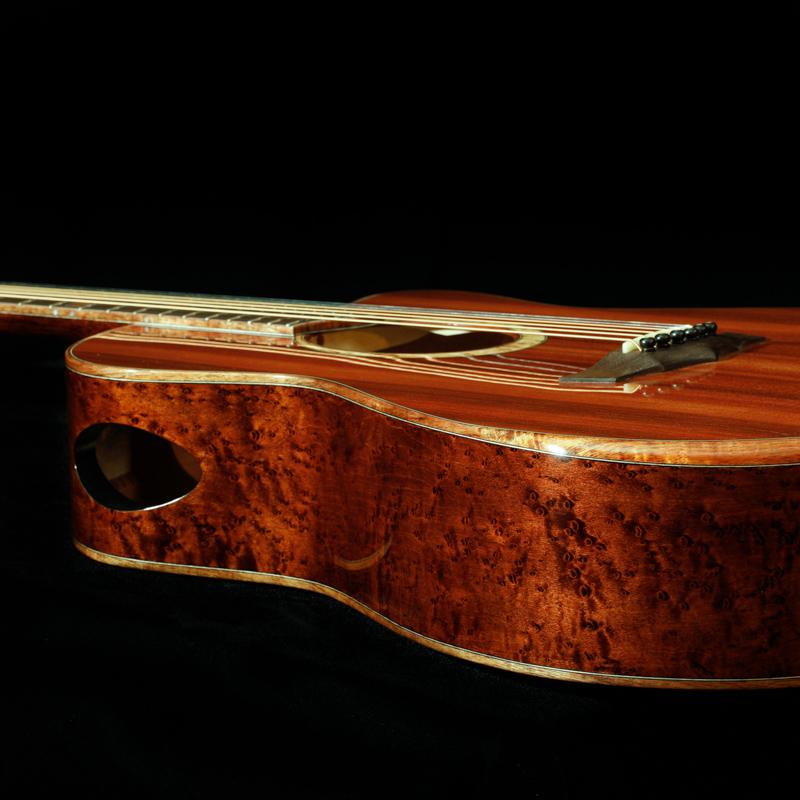 Side-soundport-Maple-Custom-Guitar