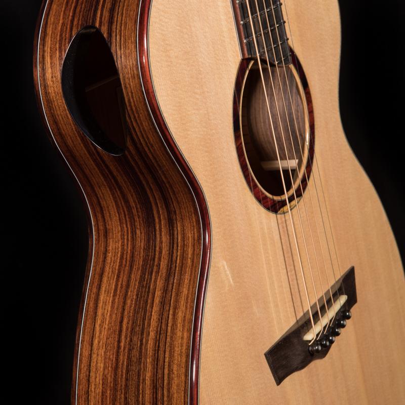 Side-soundport-Pau-Ferro-Custom-Guitar