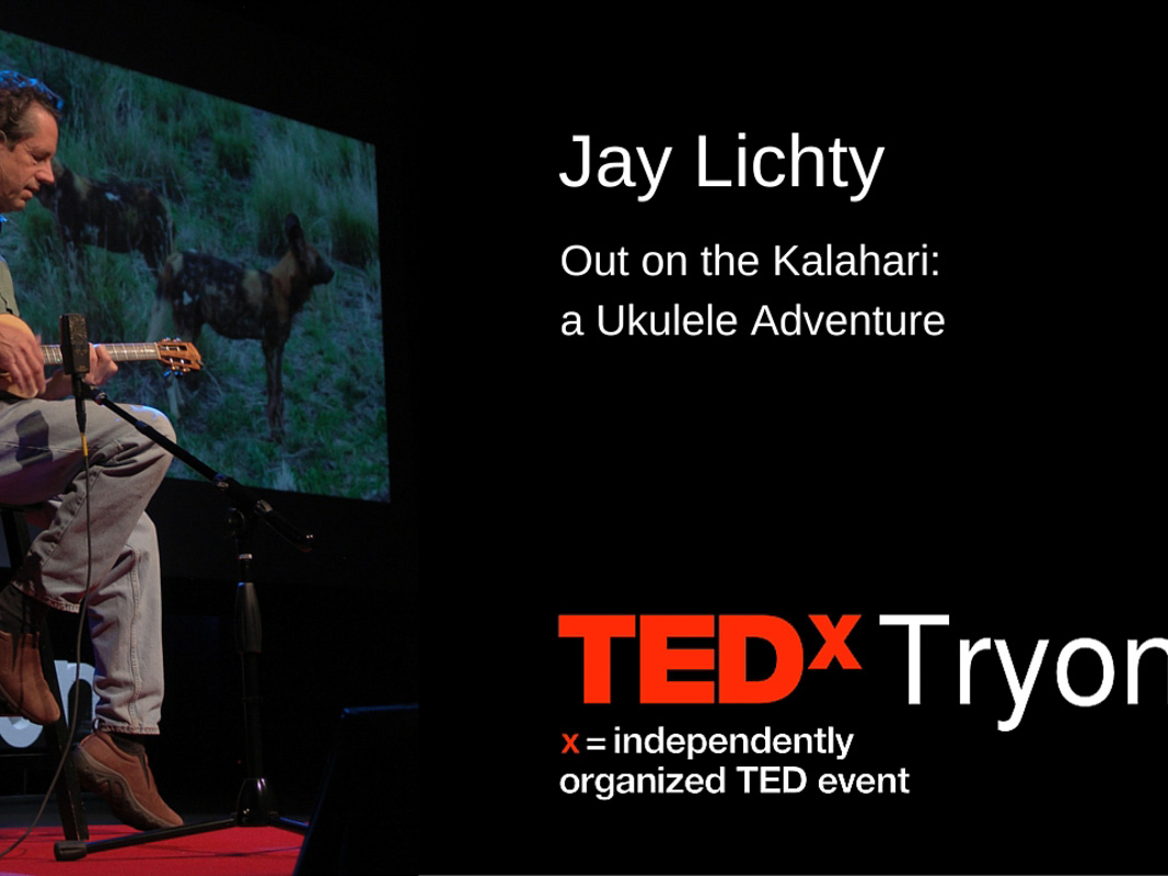 Jay Lichty TedxTryon Performance
