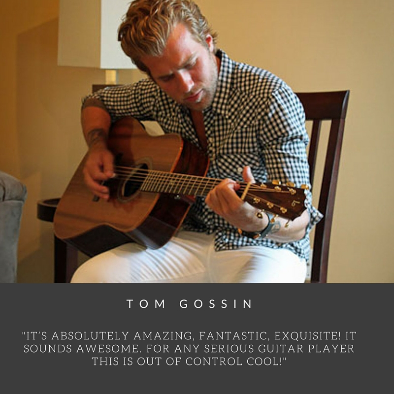 Tom Gossin Custom Lichty Guitar