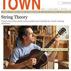 Town Magazine Lichty Guitars feature