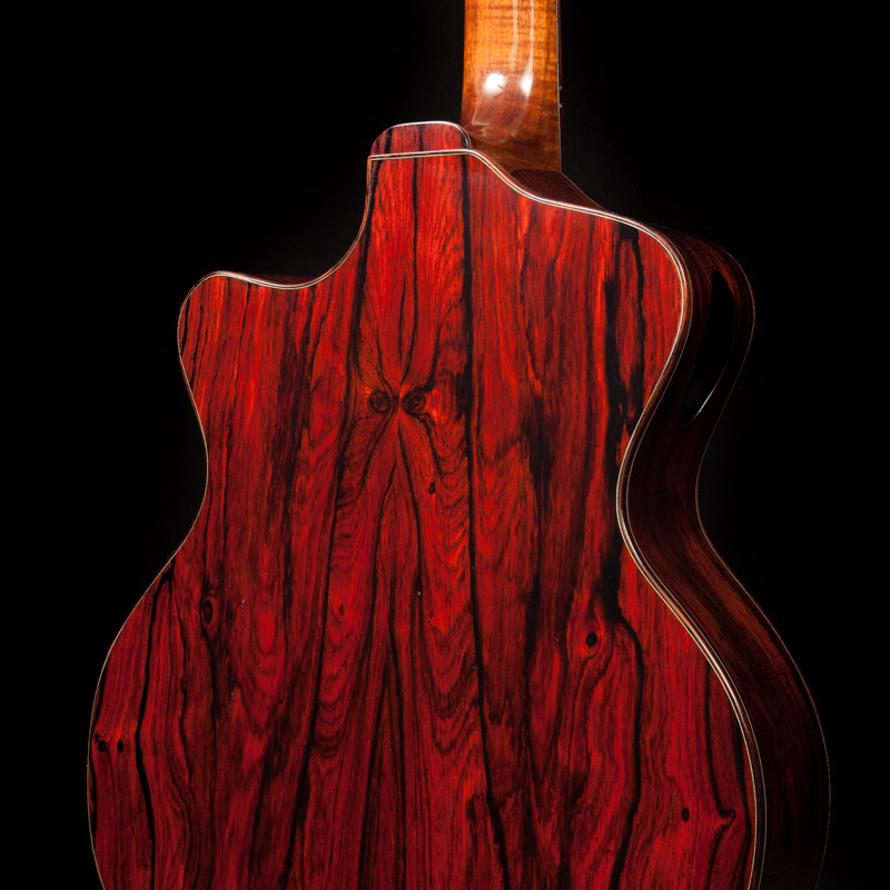 Custom Guitar with Double Compound Cutaway