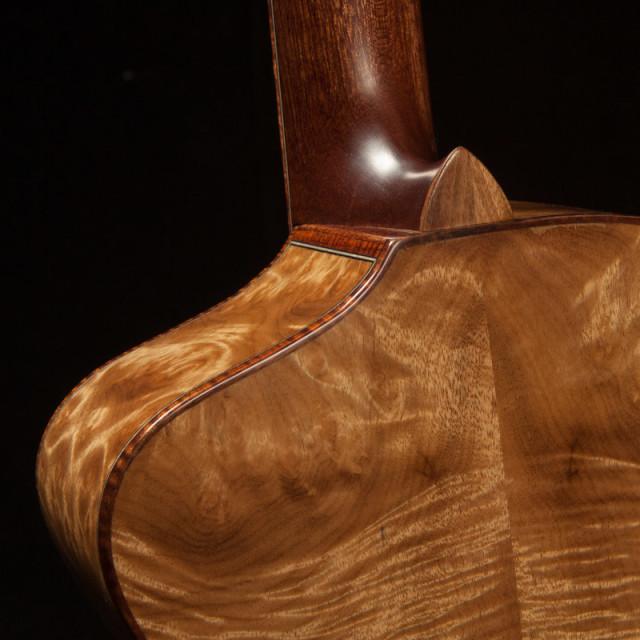 Custom Ukulele Cutaway