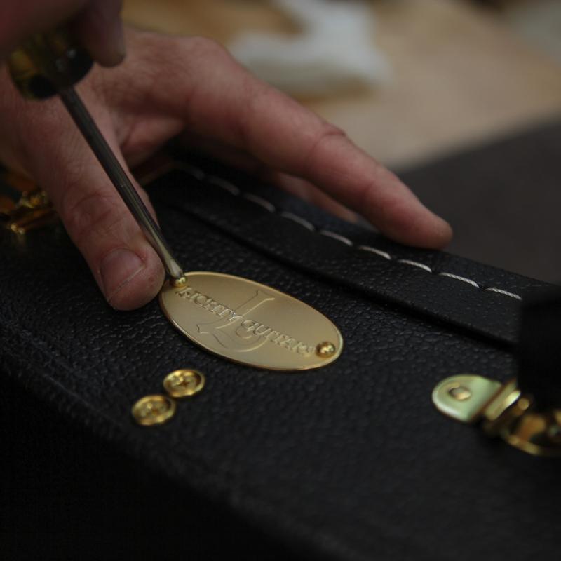 Lichty Brass Guitar Case Tag