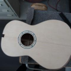Bubinga Custom Acoustic Guitar Construction