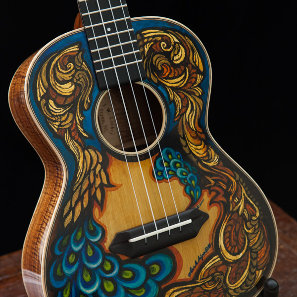 Hand Painted Ukulele