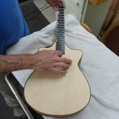 Modified Baritone Ukulele Construction U106