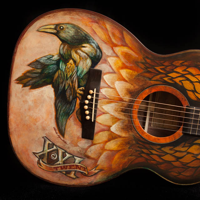 Painted Guitars Specialty Custom Options