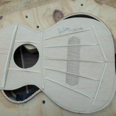 Ukulele Construction - 6 string Kiku U109