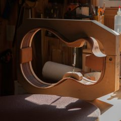 Handcrafted Parlor Guitar is the 100th Guitar