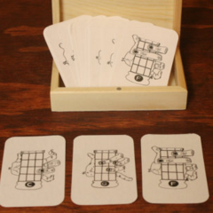 Uke Chord Cards