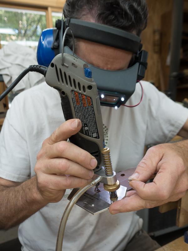 Lichty Fretless Tenor Ukulele Constuction UI127