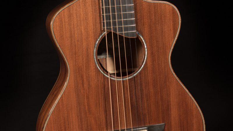 Lichty Travel Guitar