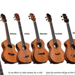 Ukulele Magazine – Spring 2018 – Luthiers for a Cause News