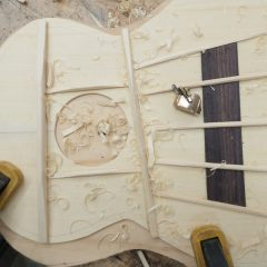 U133 Custom Tenor Ukulele Construction