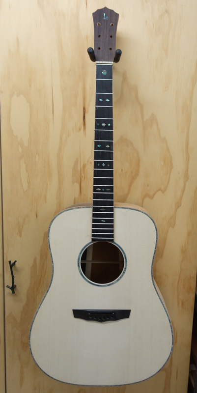 Custom Dreadnought Guitar Construction G121